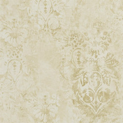 Boratti Wallpaper | Gessetto - Gold | Wall coverings | Designers Guild