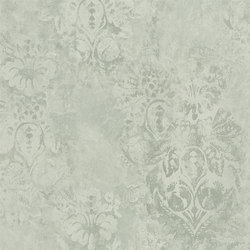 Boratti Wallpaper | Gessetto - Pale Celadon | Wandbeläge | Designers Guild