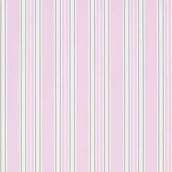 Brera Wallpaper | Pinstripe - Peony | Wall coverings | Designers Guild