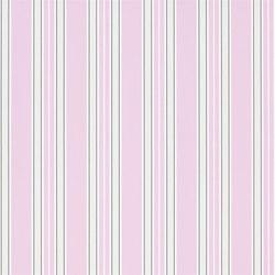 Brera Wallpaper | Pinstripe - Peony | Carta da parati | Designers Guild