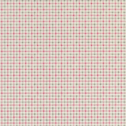 Brera Wallpaper | Willow Check - Peony | Wallcoverings | Designers Guild