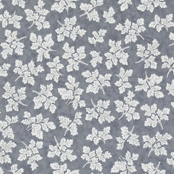 Brera Wallpaper | Meadow Leaf - Graphite | Wandbeläge | Designers Guild