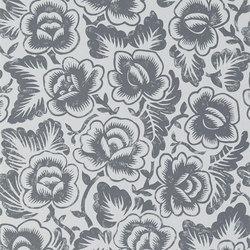 Brera Wallpaper | Rosario - Graphite | Papeles pintados | Designers Guild