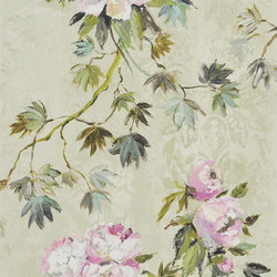 Caprifoglio  Wallpaper | Floreale - Natural | Wall coverings / wallpapers | Designers Guild