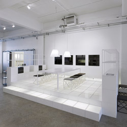 GRID office | Exhibition systems | GRID System APS