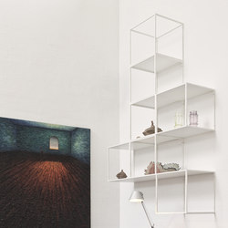 GRID wall decor | Wall shelves | GRID System ApS
