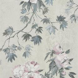 Caprifoglio  Wallpaper | Floreale - Zinc | Revestimientos de paredes / papeles pintados | Designers Guild