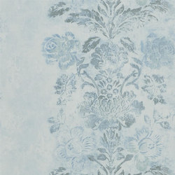Caprifoglio  Wallpaper | Damasco - Delft | Carta da parati | Designers Guild