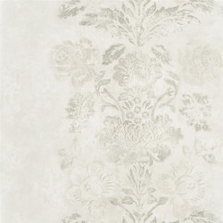 Caprifoglio  Wallpaper | Damasco - Pearl | Wall coverings / wallpapers | Designers Guild