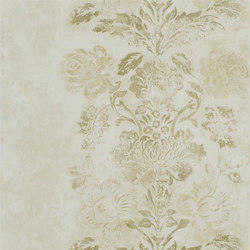 Caprifoglio  Wallpaper | Damasco - Gold | Papeles pintados | Designers Guild