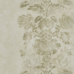 Caprifoglio  Wallpaper | Damasco - Linen | Wall coverings / wallpapers | Designers Guild