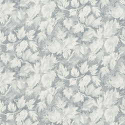 Caprifoglio  Wallpaper | Fresco Leaf - Graphite | Wallcoverings | Designers Guild