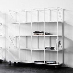 GRID room divider | Estantería | GRID System APS