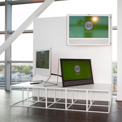 GRID podium | Exhibition systems | GRID System APS
