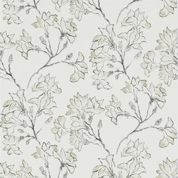 Kasuri  Wallpaper | Magnolia Tree - Ecru | Wallcoverings | Designers Guild
