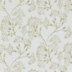 Kasuri  Wallpaper | Magnolia Tree - Gold | Papiers peint | Designers Guild