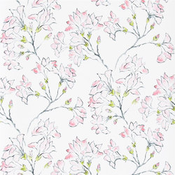 Kasuri  Wallpaper | Magnolia Tree - Peony | Wallcoverings | Designers Guild