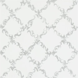 Kasuri  Wallpaper | Kasuri - Silver | Wallcoverings | Designers Guild