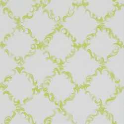 Kasuri  Wallpaper | Kasuri - Lime | Wallcoverings | Designers Guild