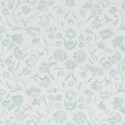 Kasuri  Wallpaper | Yukata - Duck Egg | Papeles pintados | Designers Guild