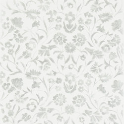 Kasuri  Wallpaper | Yukata - Silver | Wallcoverings | Designers Guild