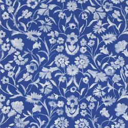 Kasuri  Wallpaper | Yukata - Cobalt | Wandbeläge | Designers Guild