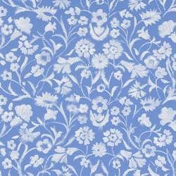 Kasuri  Wallpaper | Yukata - Lapis | Wallcoverings | Designers Guild