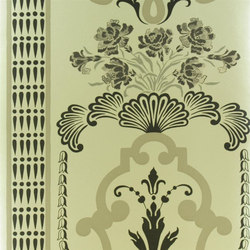 Linnaeus  Wallpaper | Bergius - Gold | Wandbeläge | Designers Guild