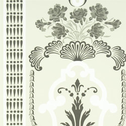 Linnaeus  Wallpaper | Bergius - Pebble | Carta da parati | Designers Guild