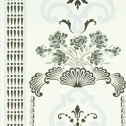 Linnaeus  Wallpaper | Bergius - Cloud | Carta da parati | Designers Guild