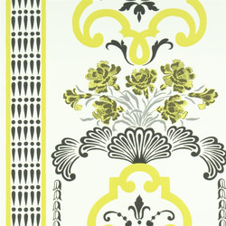 Linnaeus  Wallpaper | Bergius - Chartreuse | Wallcoverings | Designers Guild