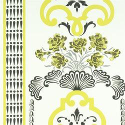 Linnaeus  Wallpaper | Bergius - Chartreuse | Papeles pintados | Designers Guild