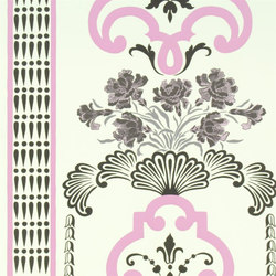 Linnaeus  Wallpaper | Bergius - Fuchsia | Wall coverings | Designers Guild