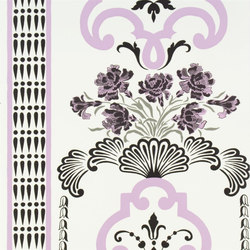 Linnaeus  Wallpaper | Bergius - Orchid | Wallcoverings | Designers Guild