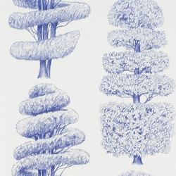 Linnaeus  Wallpaper | Linnaeus - Indigo | Papeles pintados | Designers Guild