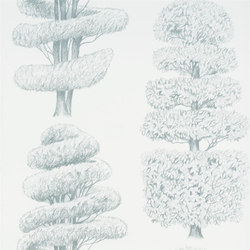Linnaeus  Wallpaper | Linnaeus - Duck Egg | Papeles pintados | Designers Guild