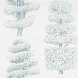 Linnaeus  Wallpaper | Linnaeus - Duck Egg | Papiers peint | Designers Guild