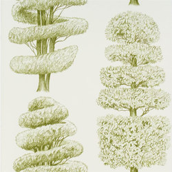 Linnaeus  Wallpaper | Linnaeus - Moss | Wallcoverings | Designers Guild