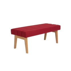 Two-seater bench  DBV-282-01 | Benches | De Breuyn