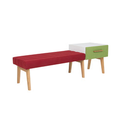 Two-seater bench DBV-280 | Panche | De Breuyn
