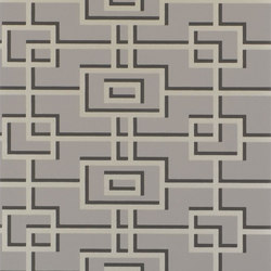 Nabucco Wallpaper | Rheinsberg - Slate | Papiers peint | Designers Guild