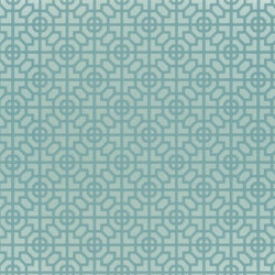Nabucco Wallpaper | Sussex - Azure | Wandbeläge | Designers Guild