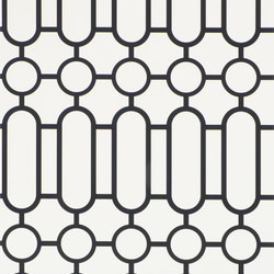 Nabucco Wallpaper | Porden - Black And White | Wallcoverings | Designers Guild