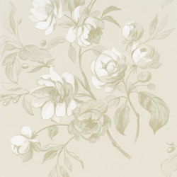 Nabucco Wallpaper | Watelet - Ecru | Wall coverings / wallpapers | Designers Guild