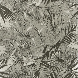 Belles Rives Wallpaper | Eden Roc - Zinc | Carta da parati | Designers Guild
