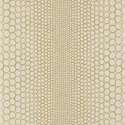 Belles Rives Wallpaper | Pearls - Sable | Papiers peint | Designers Guild