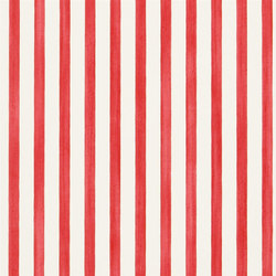 Belles Rives Wallpaper | Beach Club - Scarlet | Carta da parati | Designers Guild