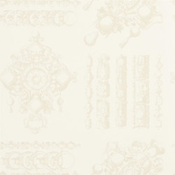 Belles Rives Wallpaper | La Main Au Collet - Coquillage | Wall coverings / wallpapers | Designers Guild