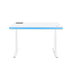TableAir White Glossy blue | Height-adjustable desks | TableAir