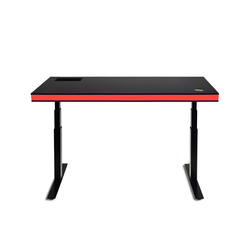 TableAir Black Glossy red | Escritorios de altura regulable | TableAir